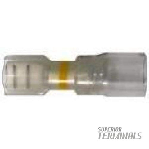Opti-Seal Fully-Insulated Female - 12-10 AWG .250 Banded Yellow - Opti-Seal