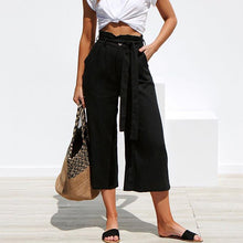 Stylish Solid Color Baggy Pants