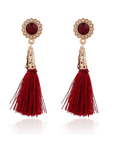 Pair Of Tassel Earrings For Women