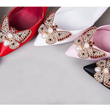 Bowknot High Heel Wedding Shoes