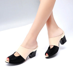 Elegant Fish Mouth Ladies Sandals Shoes