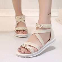 Bohemian  Flat  Faux Suede  Casual Sandals