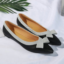 Color Block  Flat  Point Toe  Date Comfort Flats
