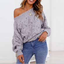 A Knit Knit With A Top And A Twist Sweater