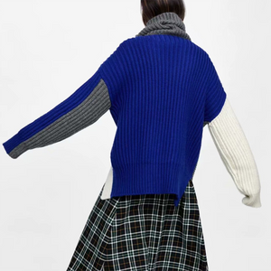 Eight - Ply Knitted Knit Sweater