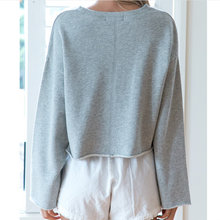 Casual Loose Round Collar Head Long Sleeve Sweatshirts