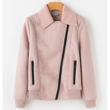 Lapel Lamb Jacket