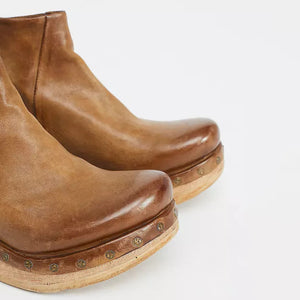 Basic Round Toe  Plain Boots