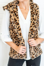 Band Collar  Leopard Printed Outerwear