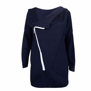Classic Fashion Casual Long Sleeves Plain Hoodie