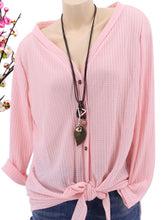 Autumn Spring  Women  Single Breasted Blouses