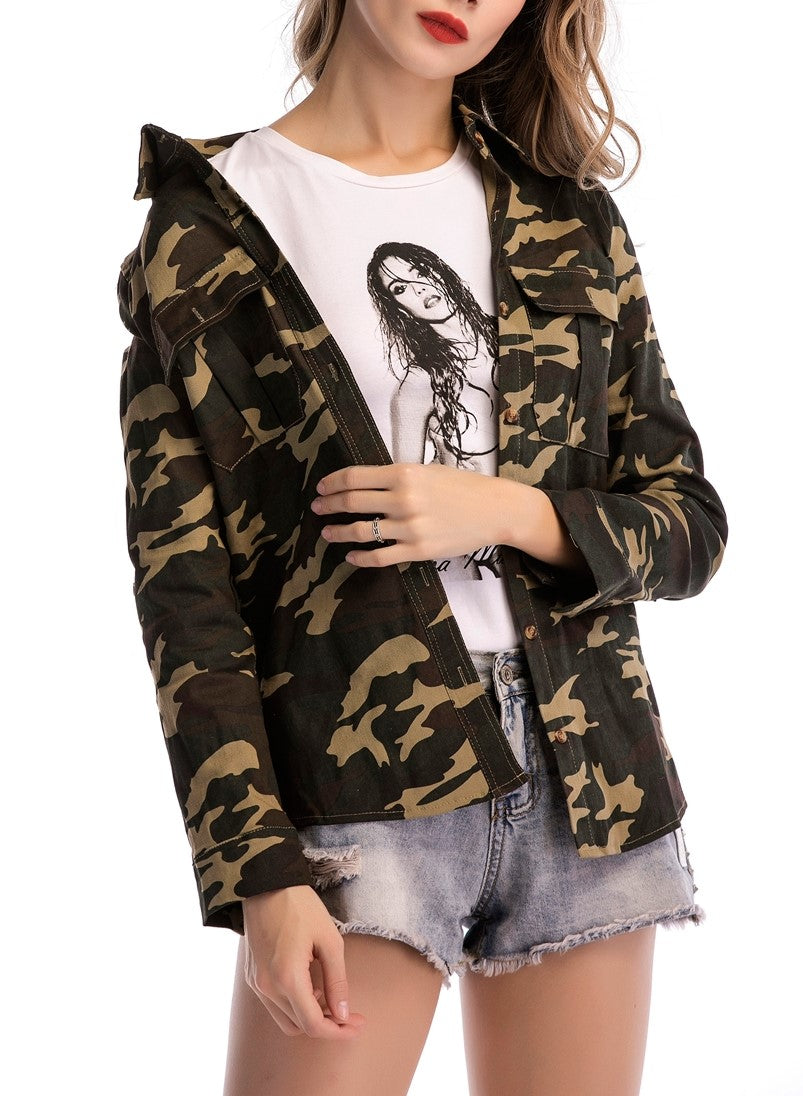 Fashion Camouflage Jackets