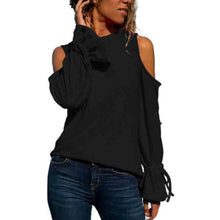 Round Leader Neck Band With Long Sleeves And Shoulder Drop T-Shirt