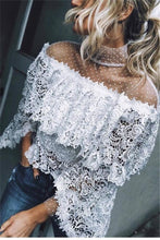 Autumn And Winter   Fashion Sexy Lace Blouses