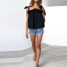 Baggy Sexy Belted Frilly T-Shirt