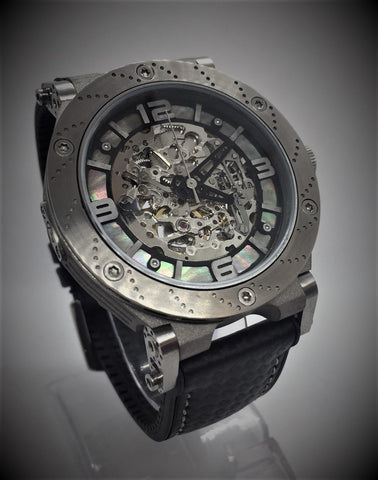Synchro Skeleton Limited Edition Pearl-Titanium