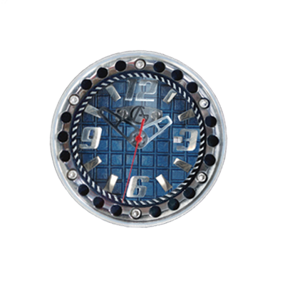 Synchro Dial-Blue-Stainless Steel Numbers & Bolted  Chapter Ring, Swiss Quartz Movement