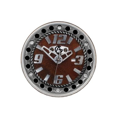 Synchro Dial-Black Groove-Stainless Steel Chapter Ring