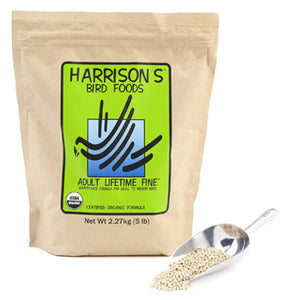 Harrison Bird Food Adult Lifetime Fine