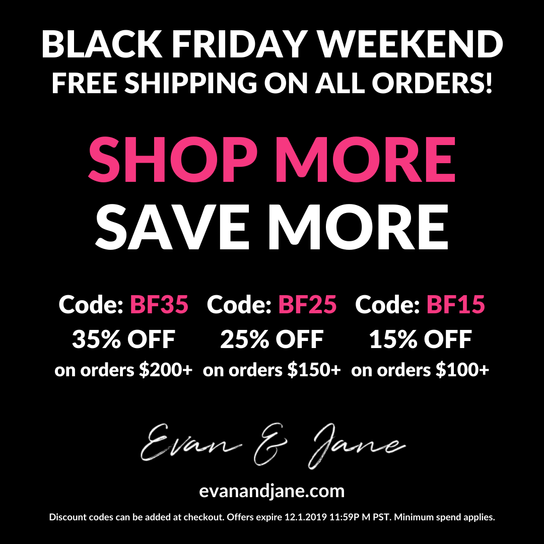 Black Friday Shop More Save More