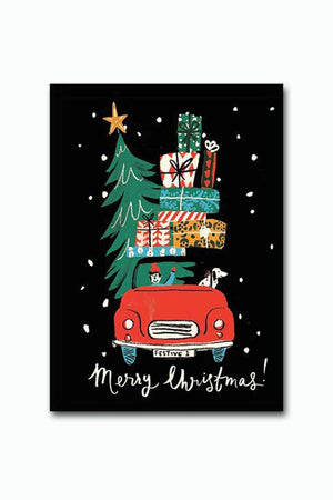 Gifts Galore Christmas Art Print - Decor - Evan & Jane