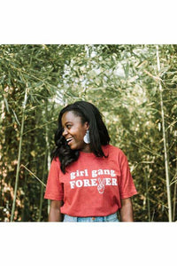 Girl Gang Forever Graphic Tee - Graphic Tees - Feminist Goods Co.