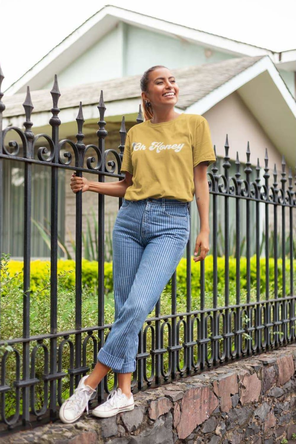 Oh Honey Graphic Tee - Graphic Tees - The Funnel Cake Tree