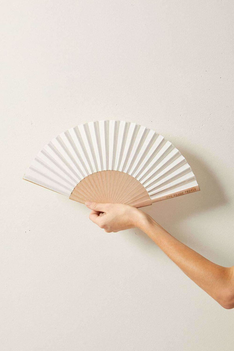 The Beach People Linen Fan - Fans - The Beach People