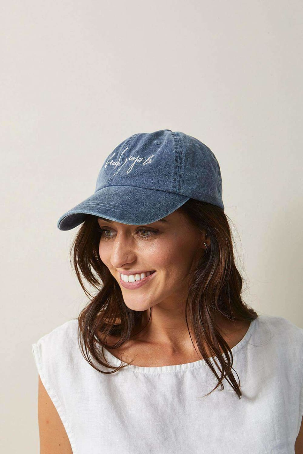 The Beach People Signature Cap Denim - Hats - The Beach People