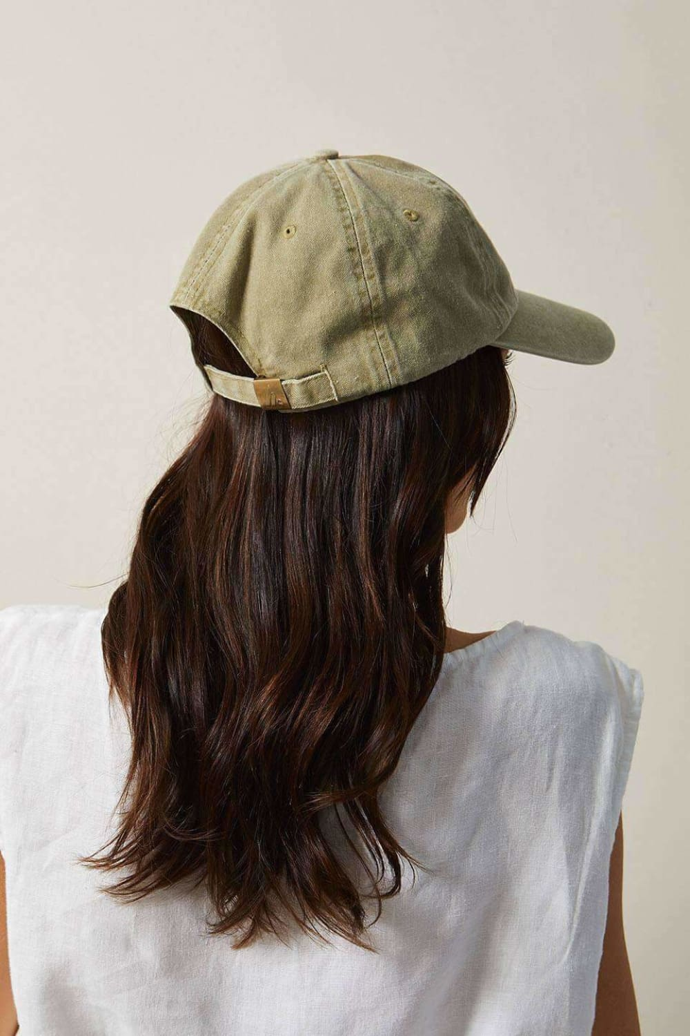 The Beach People Signature Cap Moss - Hats - The Beach People