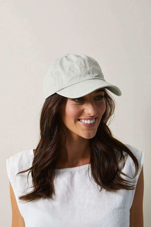 The Beach People Signature Cap Sandstone - Hats - The Beach People