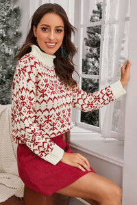Warmed Up Fairisle Christmas Sweater - Sweaters - Evan & Jane