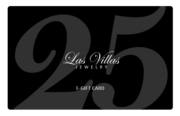 Las Villas Jewelry Gift Card $25.00 USD Las Villas Jewelry Gift Card