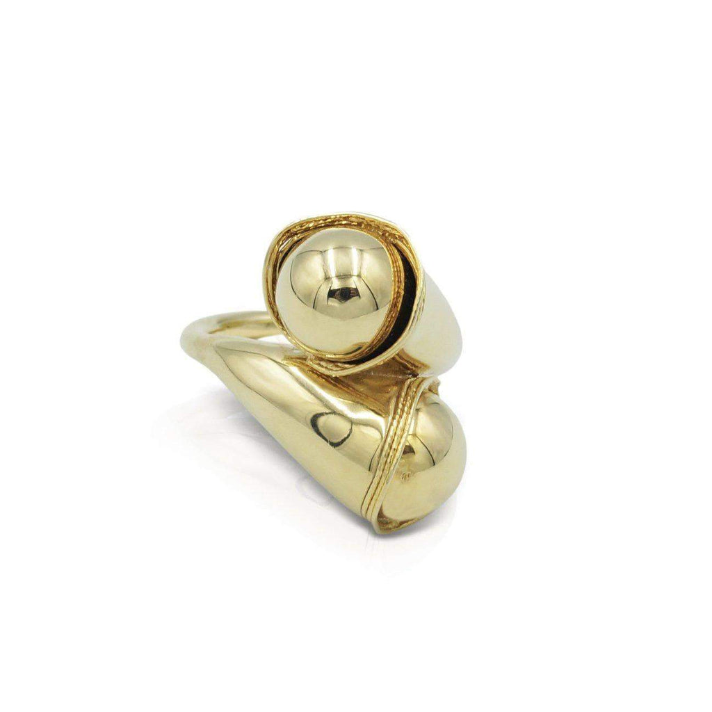 Las Villas Jewelry Womens Ring Womens Stylish Ring in 14kt Gold