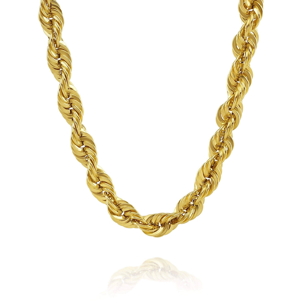 Las Villas Rope Chain 14K Gold Chain - Rope Chain