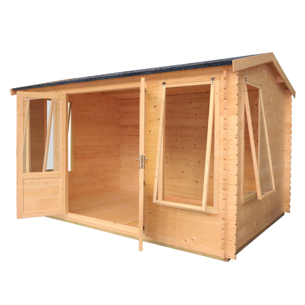 4m x 3m Home Office Director Log Cabin