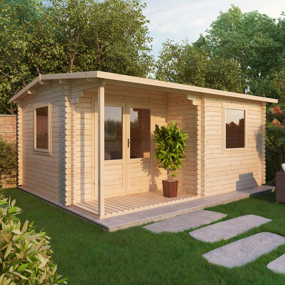 5m x 4m Home Office Executive Log Cabin
