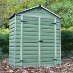 Plastic Shed Apex 3x6 (Green)