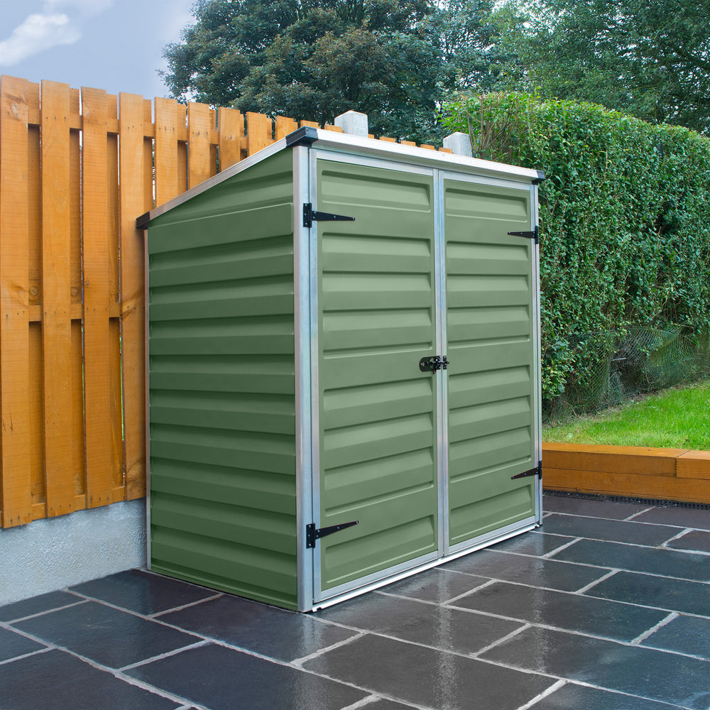 Plastic Storage Unit 4x3 (Green)