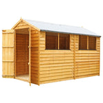 10x6 - Overlap Apex Shed - Barewood Buildings