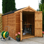 10x6 - Overlap Apex  Shed- Windowless