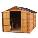 10x6 - Overlap Apex  Shed- Windowless - Barewood Buildings