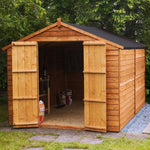 10x8 - Overlap Apex Shed - Windowless