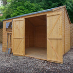 10x10 - Premium Reverse Apex Shiplap T&G Workshop - Barewood Buildings