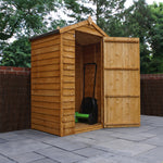3x4 - Overlap Apex Shed - Windowless