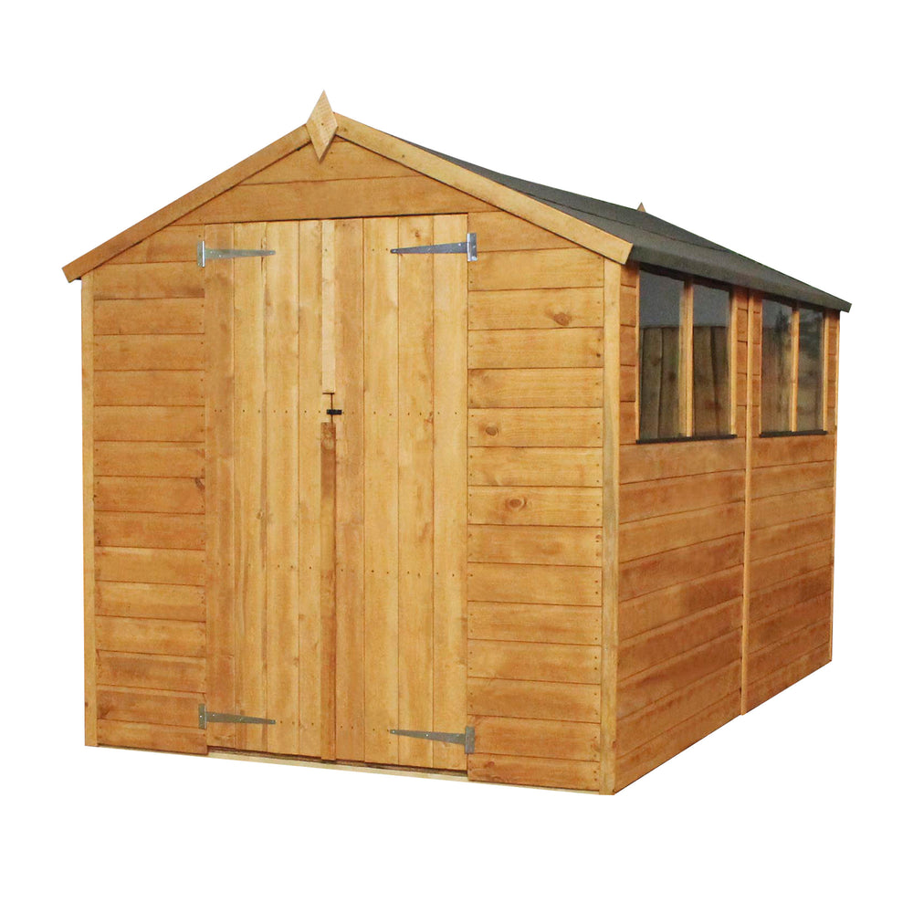10x6 - Shiplap Apex - Barewood Buildings