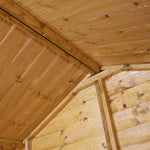 10x10 - Premium Apex Shiplap T&G Workshop - Barewood Buildings