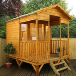 10x8 - Premium Beach Hut Summerhouse