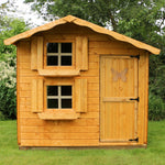 7x5 - Double Storey Snowdrop Playhouse - Barewood Buildings