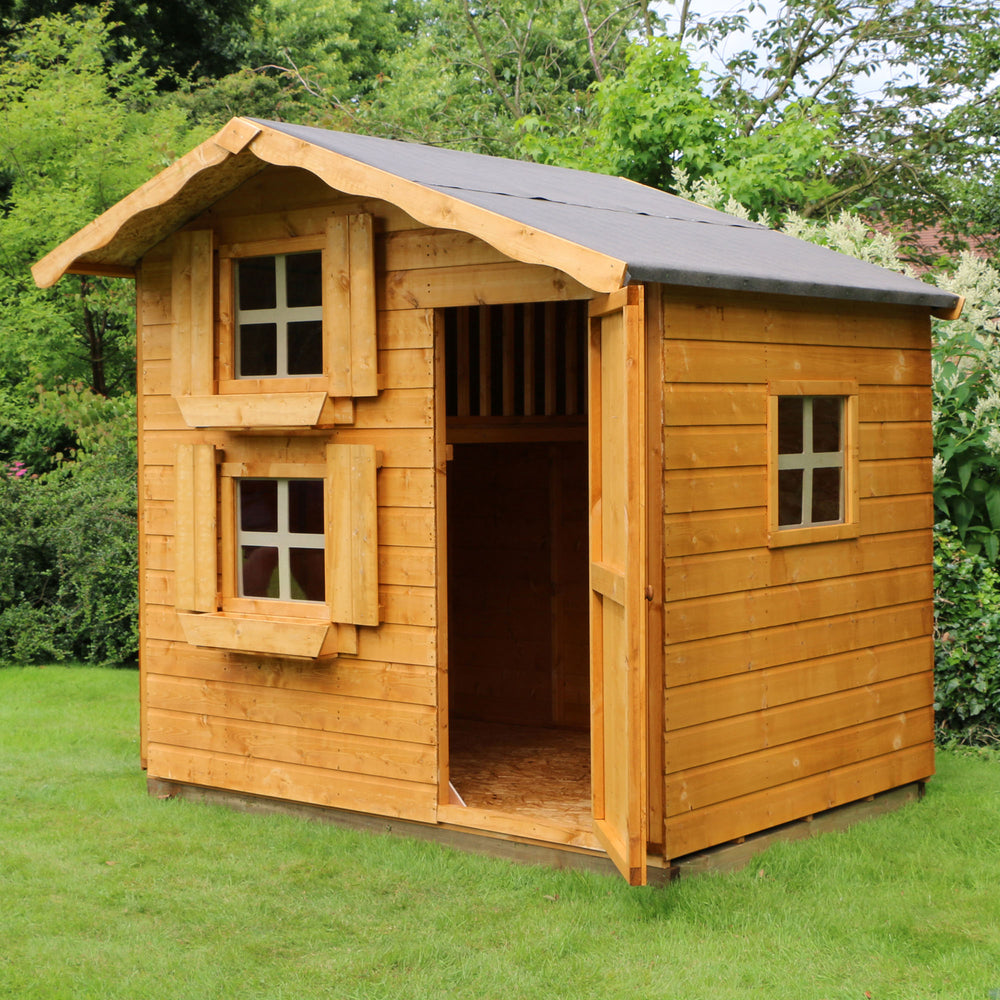 7x5 - Double Storey Snowdrop Playhouse